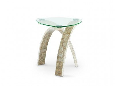 Image of Magnussen Cascade T1884-22 Oval End Table (T1884-22)