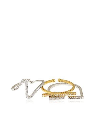 Les minimalistes Set de anillos X 3 Anais