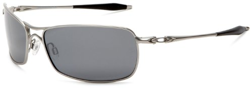 Oakley Men's Crosshair 2.0 Polarized Metal Sunglasses,Lead Frame/Black Lens,one size