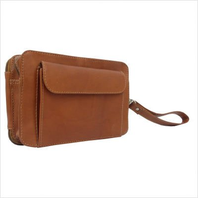 Adventurer Pocket Book Bag Color: Chocolate