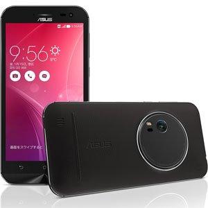 エイスース SIMフリースマートフォンZenFone Zoom 128GBモデルプレミアムレザーブラック(本革仕様) ZX551ML-BK128S4