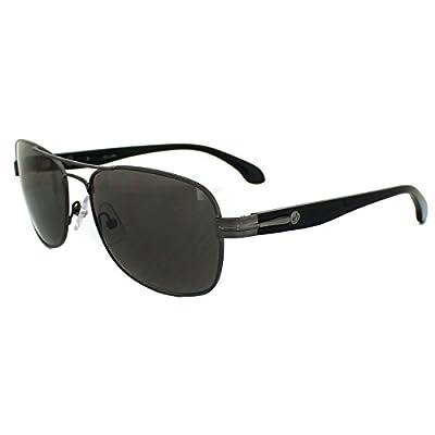 Calvin Klein Sunglasses 1176 028 Gunmetal & Black Dark Grey