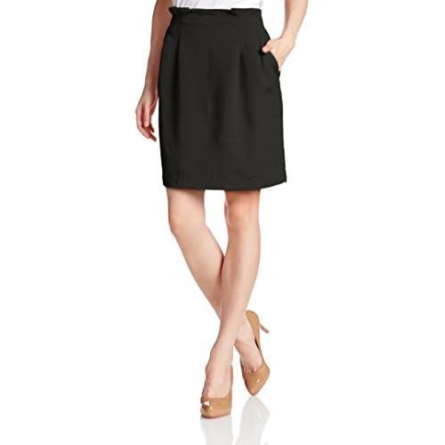 (ロペピクニック) ROPE' PICNIC グログランゴムタイトスカート GDC5414 01 ブラック 01 38