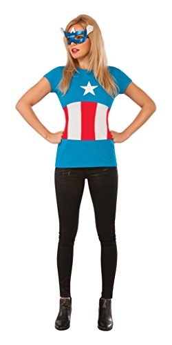Rubie's Costume Co Women's Marvel Universe American Dream Classic T Shirt