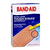 Band-Aid Band-Aid Tough-Strips 100% Waterproof Adhesive Bandages Extra Large