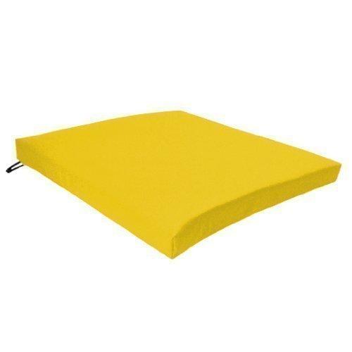 Gardenista - Garten Stuhl Sitzpolster / Kissen In Gelb Wird Sicher Mit Bändern auf der Rückseite Festgebunden. Großartig für Innen und Außen Aus Wasserfesten Material von Hoher Qualität