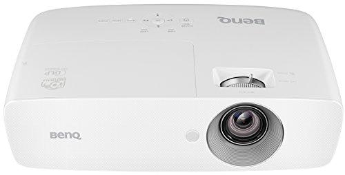 BENQ w10903d cine en casa-Proyector DLP (Full HD, 1920x 1080Pixeles, 2.000lúmenes ANSI, contraste 10.000: 1, HDMI, MHL), color blanco