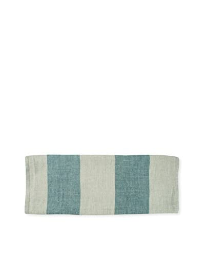 Canvas Home Striped Tea Towel in Blue