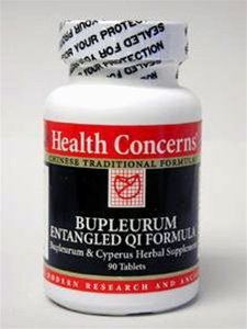 Health Concerns - Bupleurum Entangled Qi 90 Tabs [Health And Beauty]