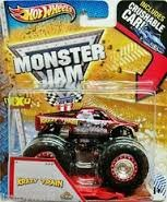 Monster Jam Maximum Destruction Krazy Train Includes Crushable Car - 1