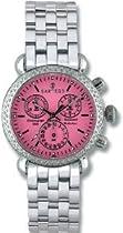 Women Watch Sartego SDPK383S Diamond Chronograph Pink Dial