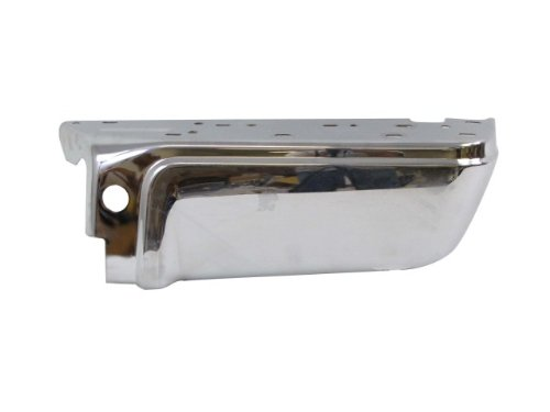 Chrome Rear Bumper End Rh (W/O Sensor Holes) Fo1105122 front-988340