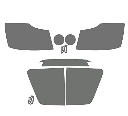 Subject 9 - Nissan Titan Pre-cut vinyl overlay Complete Headlight and Tail light PLUS kit (2004 2005 2006 2007 2008 2009 2010 2011 2012 2013 2014 2015) LIGHT (Nissan Titan Headlight Tint compare prices)