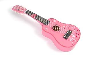 Tidlo Wooden Guitar (Pink)