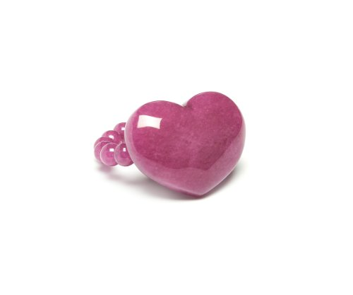 Lola Rose 'Alexa' Sangria Quartzite Stretch Ring