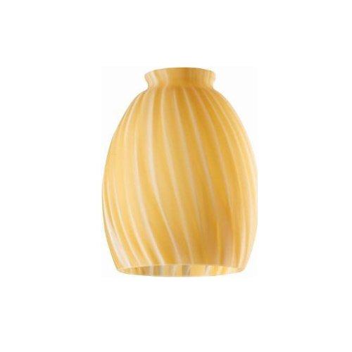 Westinghouse Lighting Corp 4-3/4-Inch Swirl Glass Shade