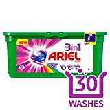 NEW Ariel 3in1 Colour Pods (1 X30 Washes)