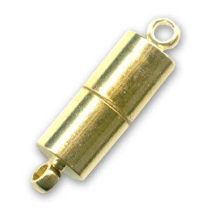 Magnetverschluß 21x6mm Gold tone x1