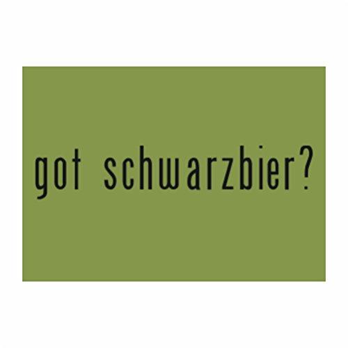 Teeburon Got Schwarzbier? Sticker Pacchetto di 4