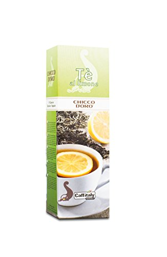 Get 60 Chicco d'Oro Tea Capsules Tè al limone by Caffè Chicco d'Oro