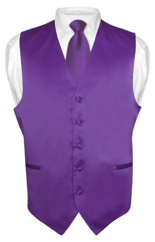 Purple Dress Shirt with Tie