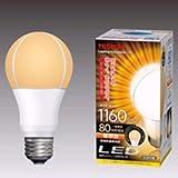 東芝 E-CORE(イー・コア) LED電球 一般電球形 12.4W (光が広がるタイプ・白熱電球80W相当・1160ルーメン・電球色) LDA12L-G