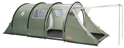 Coleman Coastline Deluxe Six Man Tent - Green/Grey