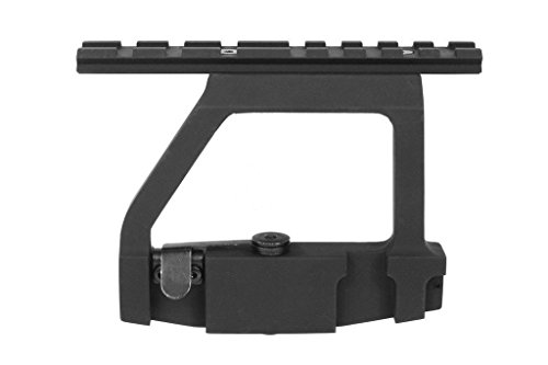 Green Blob Outdoors AK 47 7.62X39 Tactical Saiga QD Picatinny/Weaver Top Rail Side Scope Mount (Ak Side Scope Mount compare prices)