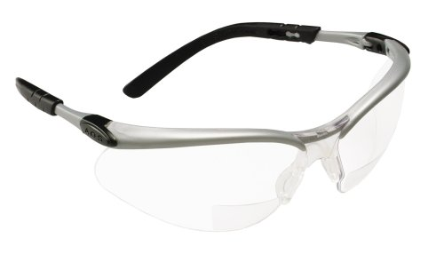 3M Reader's Safety Glasses,+1.5 Diopter, Clear Lens