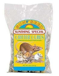 Sun Seed Company SSS17400 Sunthing Special Critter Cubes Treat, 50-Pound
