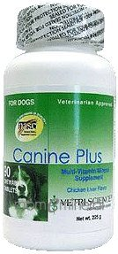Canine Plus Chicken Liver Flavor 90 Chewableables by Vetri-Science