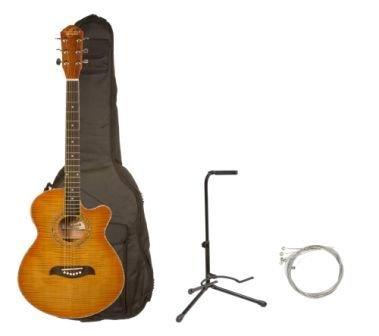 lowest price oscar schmidt by washburn og10ce full size cutaway acoustic electric guitar combo. Black Bedroom Furniture Sets. Home Design Ideas