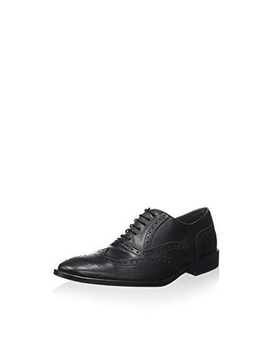 Ortiz & Reed Zapatos Oxford Angrado Negro
