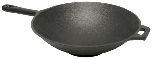 Read About Bayou Classic 7437 12-1/2-Inch Cast Iron Wok