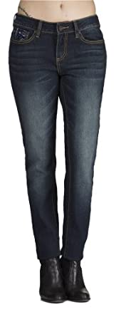 (CD131403) COOGI Hot Skinny Jeans with Classic Coogi Embroidery Detail (Sizes 4-24) in Classic Size: 5/6