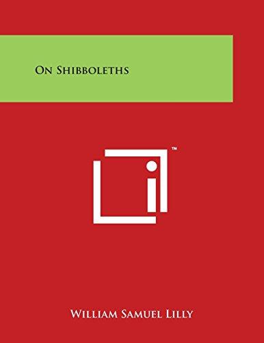 On Shibboleths