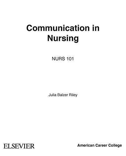 comunication in nursing Introduction the nurse-client relationship is the foundation on which psychiatric nursing is established the therapeutic interpersonal relationship is the process by which nurses provide care for clients in need of psychosocial intervention.