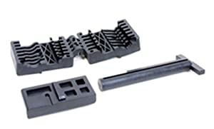 ProMag AR-15 M16 Upper and Lower Receiver Magazine Well-Vise Block Set, Black by ProMag