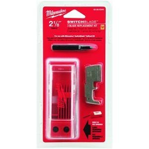 "Milwaukee 48-25-5240 2-1/8"" Switchblade 3-Blade Replacement Kit"