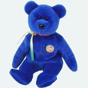 TY Beanie Buddy - CLUBBY 5 the Bear - 1