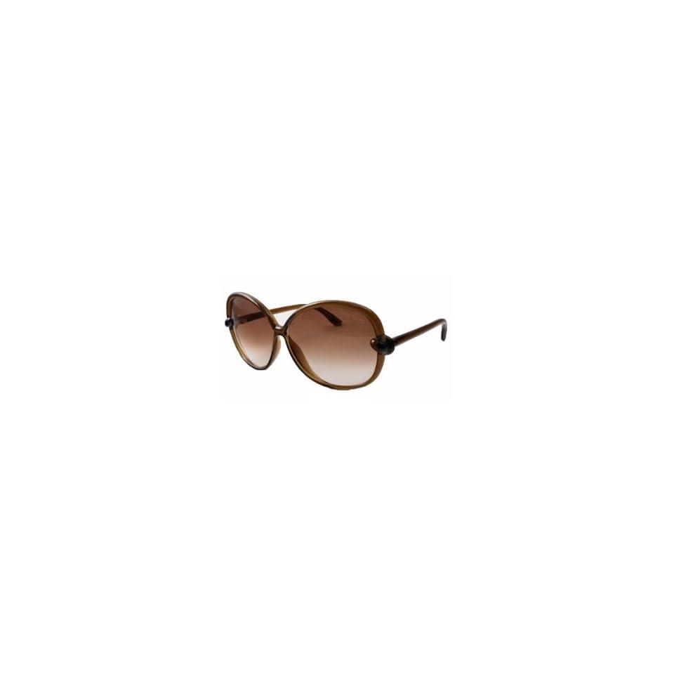 125548b25f15 Tom Ford Sunglasses TF 163 BROWN 48F INGRID on PopScreen