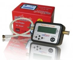 Digitaler LCD Sat Finder von Satcheck SF-10-DT