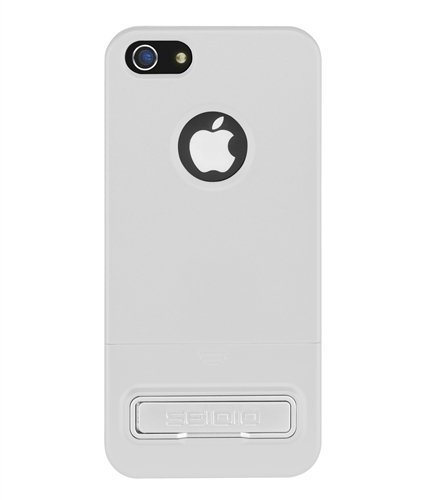 Best Price Seidio CSRSIPH5K-GL SURFACE Reveal Case with Metal Kickstand for Apple iPhone 5 - 1 Pack - Carrying Case - Retail Packaging - Glossed White