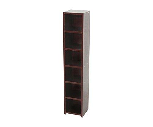 6-tier-cd-rack-shelf-mahogany