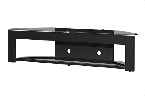 Order Tech Craft Md73 Lcd Plasma Glass Tv Stand In Black Finish For