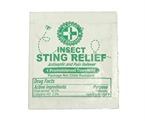 Guardian 100 Sting Relief Prep Pads by Guardian