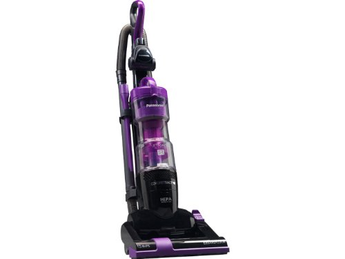 "Panasonic ""Jet Force Bagless"" Upright Vacuum Cleaner Mc-Ul427, Vibrant Violet & Black Finish"