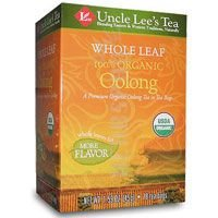 Whole Leaf 100% Organic Oolong Tea, 18 Bags (Pack Of 4)