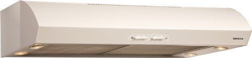 Broan QP136WW Under-Cabinet Range Hood, 36-Inch 300 CFM, White-on-White (Nutone Smoke Filter compare prices)