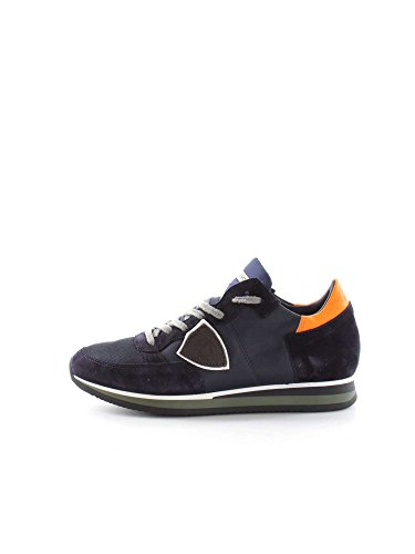 PHILIPPE MODEL PARIS TRLU WL42 BLUE ORANGE SNEAKERS Uomo BLUE ORANGE 40